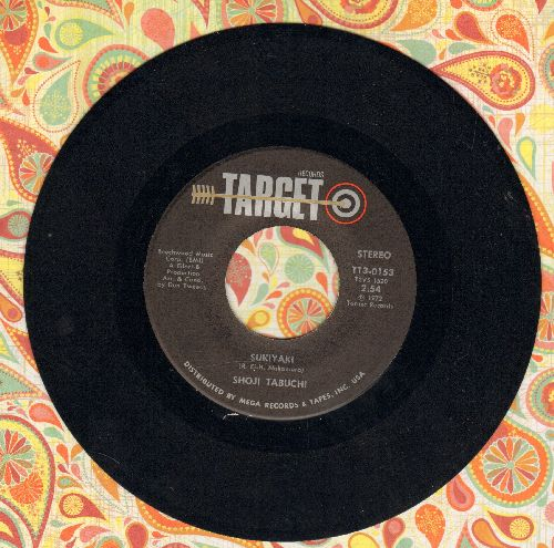 Tabuchi, Shoji - Sukiyaki/San Antonio Rose - NM9/ - 45 rpm Records