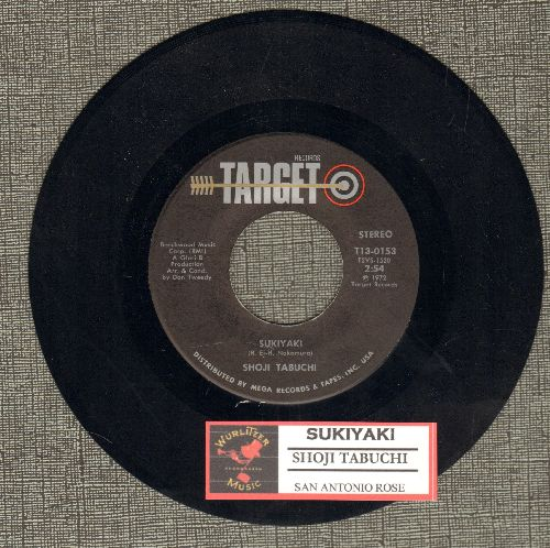 Tabuchi, Shoji - Sukiyaki/San Antonio Rose (with juke box label) - NM9/ - 45 rpm Records