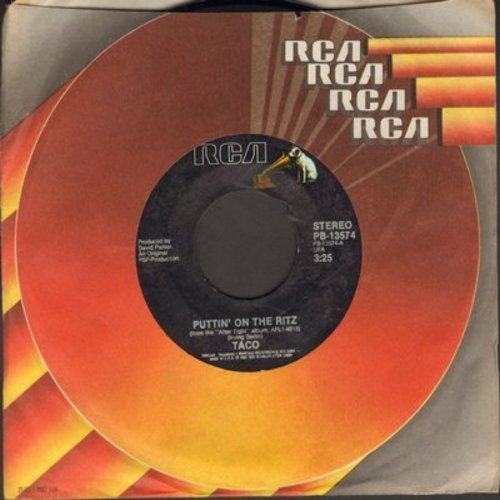Taco - Puttin' On The Ritz/Livin' In My Dream World  - NM9/ - 45 rpm Records