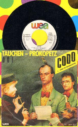 Tauchen-Prokopetz (DOF) - Codo (…duse im Sauseschritt)/Rein gar nix (Austrian Pressing, sung in German) - NM9/EX8 - LP Records