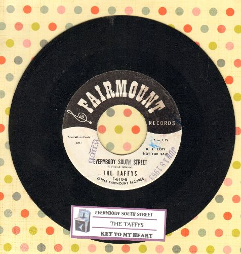 Taffys - Everybody South Street/Key To My Heart (DJ advance pressing with juke box label) - NM9/ - 45 rpm Records