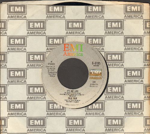 Talk, Talk - It's My Life/Again, A Game…Again (with EMI company sleeve) - EX8/ - 45 rpm Records