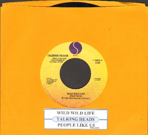 Talking Heads - Wild Wild Life/People Like Us (Movie Version) (with juke box label) - EX8/ - 45 rpm Records