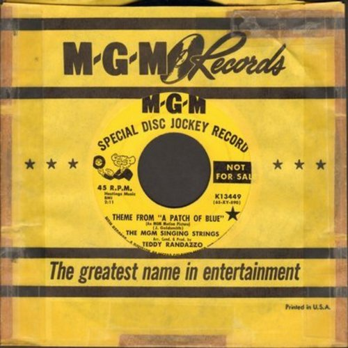 MGM Singing Strings - Theme From -A Patch Of Blue-/The Old And The New (DJ advance pressing) - NM9/ - 45 rpm Records