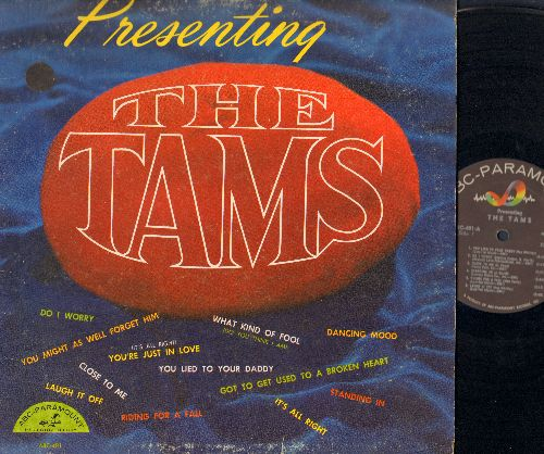 Tams - Presenting The Tams: You Lied To Your Daddy, Laugh It Off, What Kind Of Fool (Do You Think I Am), It's All Right (vinyl MONO LP record) - VG7/VG7 - LP Records