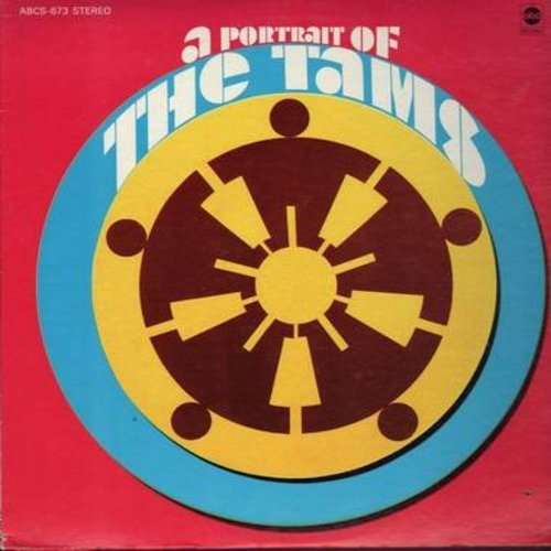 Tams - A Portrait Of The Tams: Hey Jude, You Got The Power, Soul Brother, What Do You Do, Whose Little Girl Are You (Vinyl STEREO LP record) - NM9/EX8 - LP Records