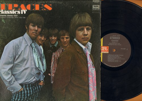 Classics IV - Traces: Sunny, Free, Mr. Blue, Our Day Will Come, Sentimental Lady (Vinyl STEREO LP record) - EX8/VG6 - LP Records