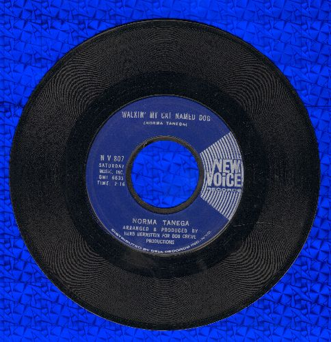 Tanega, Norma - Walkin' My Cat Named Dog/I'm The Sky - EX8/ - 45 rpm Records