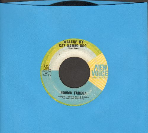 Tanega, Norma - Walkin' My Cat Named Dog/I'm The Sky - VG7/ - 45 rpm Records