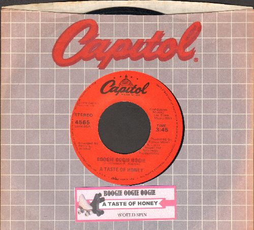 Taste Of Honey - Boogie Oogie Oogie/World Spin (with juke box label and Capitol company sleeve) - NM9/ - 45 rpm Records