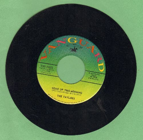 Taylors - Woke Up This Morning/Brazos River - EX8/ - 45 rpm Records
