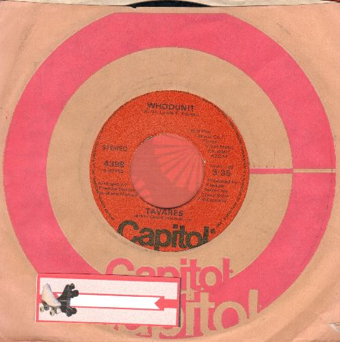 Tavares - Whodunit/Fool Of The Year (with Capitol company sleeve) - NM9/ - 45 rpm Records