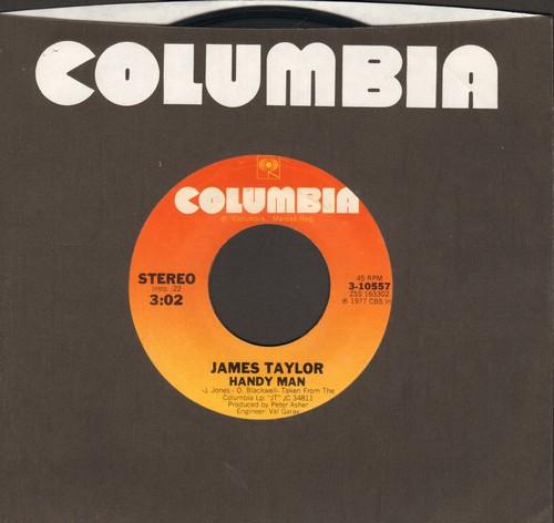 Taylor, James - Handy Man/Bartender's Blues - NM9/ - 45 rpm Records