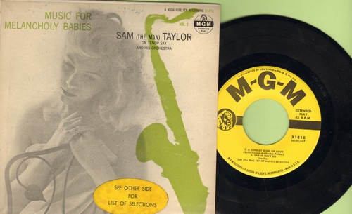 Taylor, Sam (The Man) - A Sunday Kind Of Love/Say It Isn't So/In The Blue Of The Evening/Nightfall (Vinyl EP record with picture cover) - EX8/EX8 - 45 rpm Records