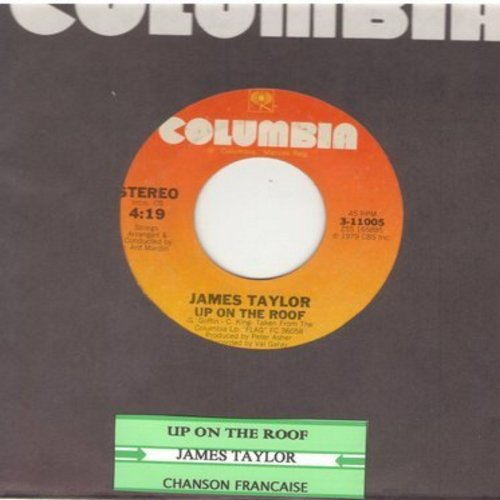 Taylor, James - Up On The Roof/Chanson Francaise (with juke box label) - NM9/ - 45 rpm Records