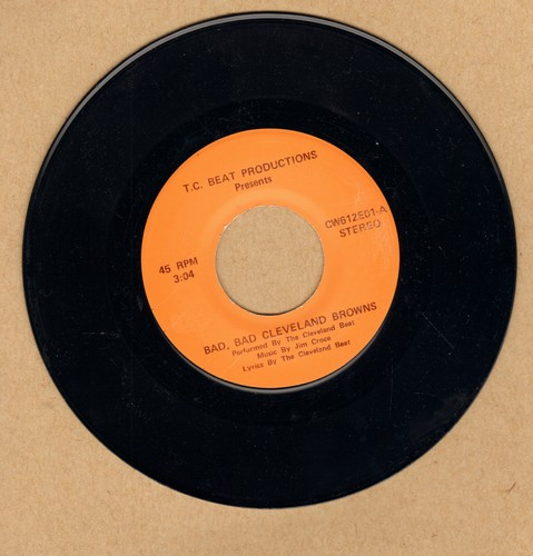 Cleveland Beat - Bad, Bad Cleveland Browns (double-A-sided DJ advance copy) - NM9/ - 45 rpm Records