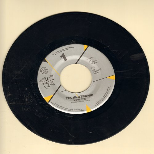 Technotronic - Move This/Pump Up The Jam - NM9/ - 45 rpm Records