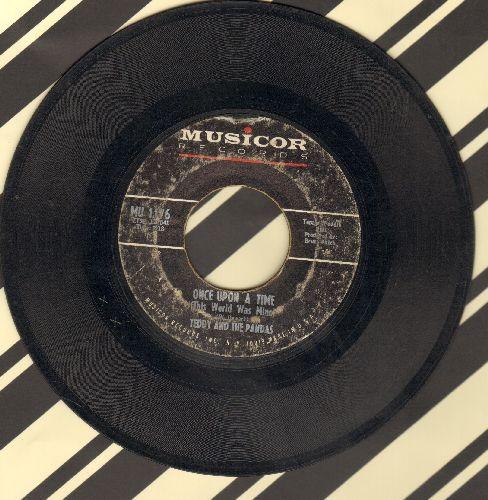 Teddy & The Pandas - Once Upon A Time (This World Was Mine)/(Bye Bye) Out The Window  - VG6/ - 45 rpm Records