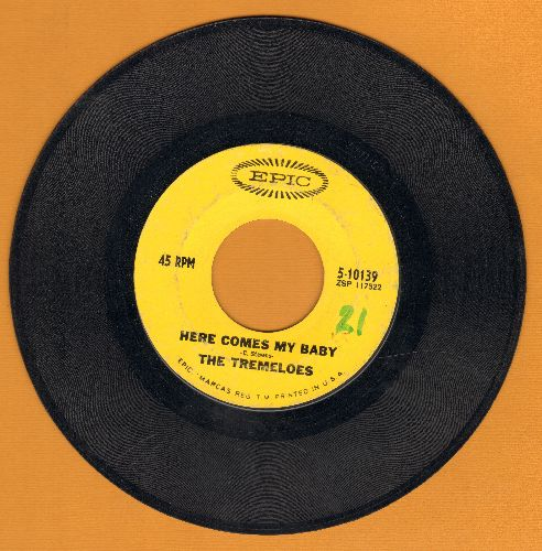Tremeloes - Here Comes My Baby/Gentleman Of Pleasure  - VG7/ - 45 rpm Records