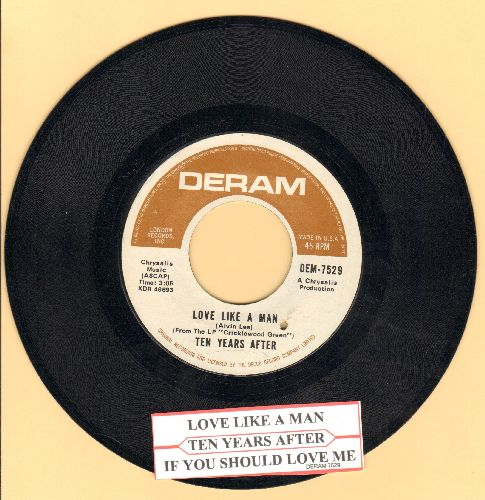 Ten Years Laters - Love Like A Man/If You Should Love Me (with juke box label) (bb) - NM9/ - 45 rpm Records