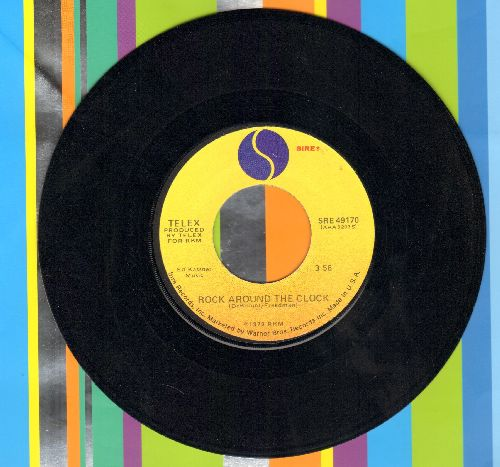 Telex - Rock Around The Clock (TECHNO-PUNK version of the Bill Haley Classic!)/Le Fond De L'Air - NM9/ - 45 rpm Records