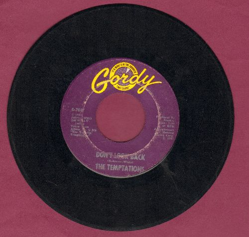Temptations - Don't Look Back/My Baby - VG7/ - 45 rpm Records
