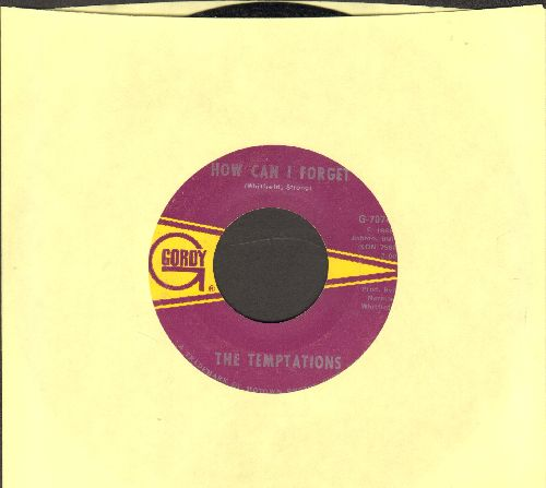 Temptations - How Can I Forget/Please Return Your Love To Me (bb) - VG7/ - 45 rpm Records