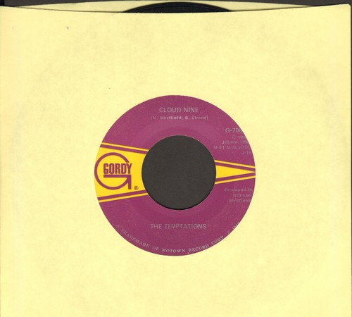 Temptations - Cloud Nine/Why Did She Have To Leave Me (Why Did She Have To Go)(bb) - EX8/ - 45 rpm Records