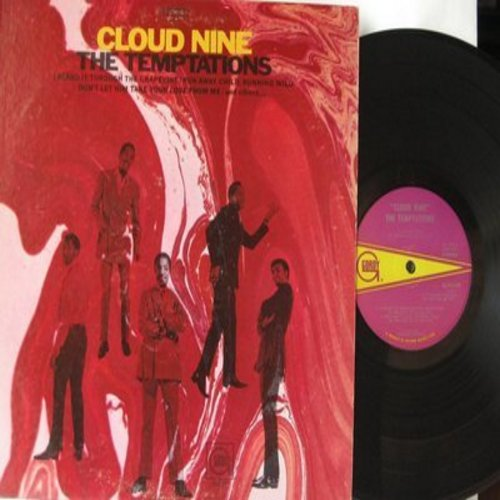Temptations - Cloud Nine: I Heard It Through The Grapevine, I Need Your Lovin', Love Is A Hurtin' Thing (Vinyl STEREO LP record, soc) - EX8/VG7 - LP Records