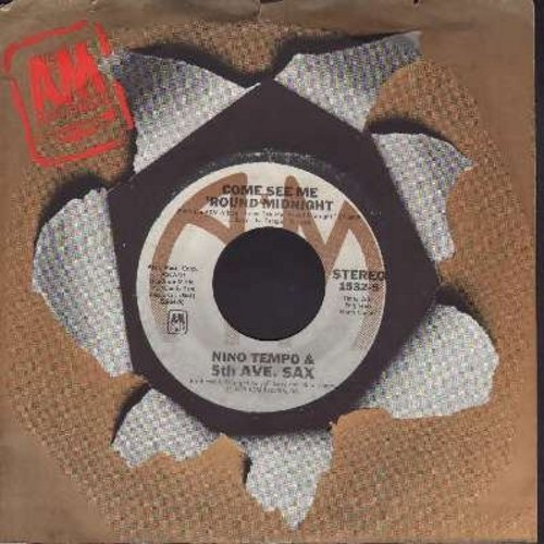 Tempo, Nino & 5th Ave. Sax - Come See Me 'Round Midnight/High On The Music (with A&M company sleeve) - NM9/ - 45 rpm Records