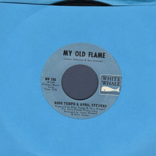 Tempo, Nino & April Stevens - My Old Flame/Wings Of Love (MINT condition!) - M10/ - 45 rpm Records