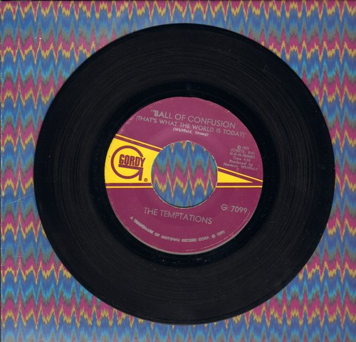 Temptations - Ball Of Confusion/It's Summer - EX8/ - 45 rpm Records