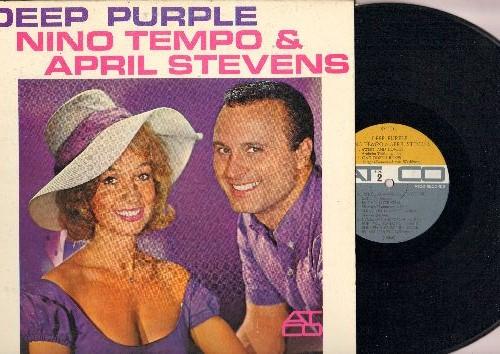 Tempo, Nino & April Stevens - Deep Purple: True Love, Indian Love Call, (We'll Always Be) Together, Paradise, Shine On Harvest Moon (Vinyl MONO LP record) - NM9/EX8 - LP Records