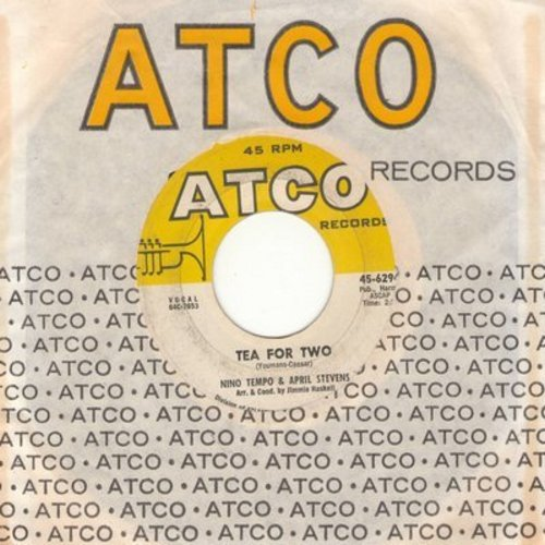 Tempo, Nino & April Stevens - Tea For Two/I'm Confessin' (with Atco company sleeve) - NM9/ - 45 rpm Records