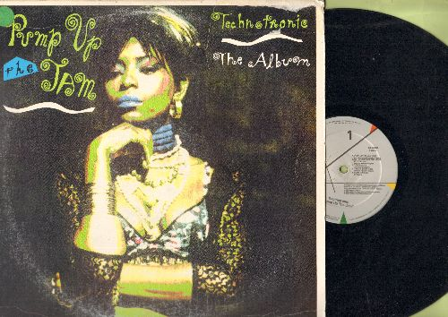 Technotronic - Pump Up The Jam - The Album: Get Up (Before The Night Is Over), This Beat Is Technotronic, Move This, Raw (vinyl STEREO LP record) - VG7/VG7 - LP Records