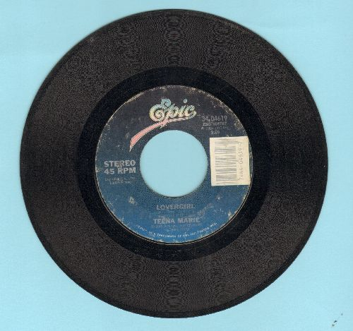 Teena Marie - Lovergirl/Lovergirl (Instrumental)  - VG6/ - 45 rpm Records