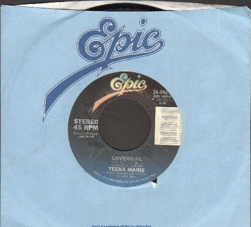 Teena Marie - Lovergirl/Lovergirl (Instrumental) (with Epic company sleeve) - NM9/ - 45 rpm Records
