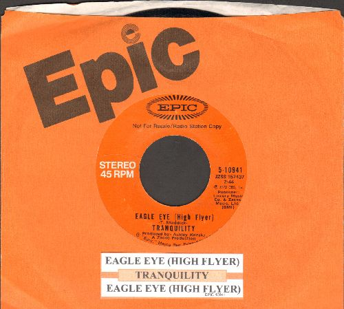 Tranquility - Eagle Eye (High Flyer) (double-A-sided MONO/STEREO DJ advance pressing with juke box label and Epic company sleeve) - NM9/ - 45 rpm Records