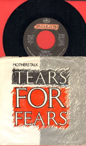 Tears For Fears - Mothers Talk/Sea Song (with picture sleeve) - NM9/NM9 - 45 rpm Records