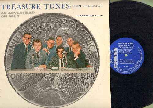 Young, Kathy, Ritchie Valens, Monotones, Clarence Henry, others - Tresure Tuens From The Vault As Advertised on WLS: A Thousand Stars, La Bamba, Stay, Oh Julie, So Fine, Lavender Blue (vinyl MONO LP record) - EX8/EX8 - LP Records