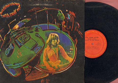 Ten Years After - Rock & Roll Music To The World: You Give Me Loving, Convention Prevention,Choo Choo Mama (vinyl STEREO LP record, gate-fold cover) - EX8/EX8 - LP Records