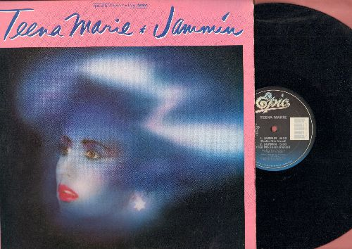 Teena Marie - Jammin (8:00 Dance Mix- Long Version)/Jammin (6:30 Radio-Mix Vocal)/Jammin (5:00 Fun Mix-Instrumental) (12 inch vinyl Maxi Single with picture cover) - NM9/NM9 - Maxi Singles