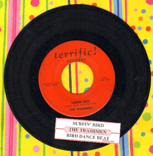 Trashmen - Surfin' Bird/King Of The Surf - VG7/ - 45 rpm Records
