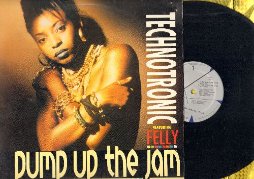 Technotronic - Pump Up The Jam (12 inch vinyl Maxi Single with 4 different tracks of the Dance-Club Favorite, with picture cover) - NM9/EX8 - Maxi Singles