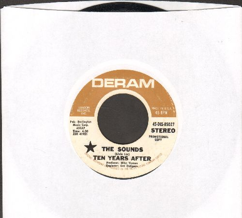Ten Years Laters - The Sounds/Portable People (DJ advance pressing) - EX8/ - 45 rpm Records