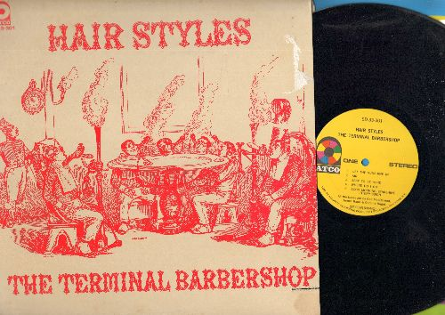 Terminal Barbershop - Hair Styles: Let The Sunshine In, Good Morning Starshine, Aquarius, Hair, Walking In Space (vinyl STEREO LP record) - NM9/VG7 - LP Records
