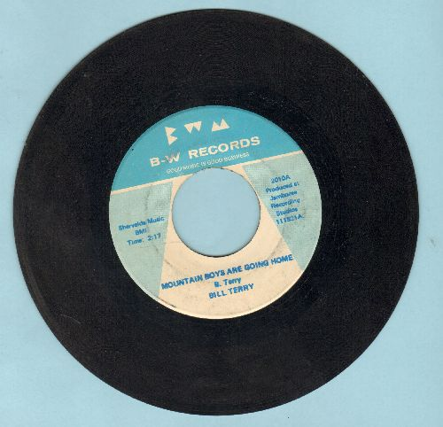 Terry, Bill - Mountain Boys Are Going Home/Greenbrier Valley - EX8/ - 45 rpm Records