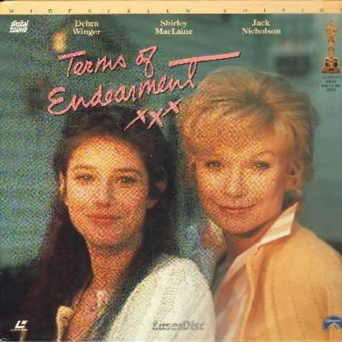 Terms Of Endearment - Terms Of Endearment - The 1983 Best Picture Oscar Winner starring Oscar Winners Shirley Mac Laine and Jack Nicholson - This is a set of 2 LASER DISCS, NOT ANY OTHER KIND OF MEDIA! - NM9/NM9 - Laser Discs