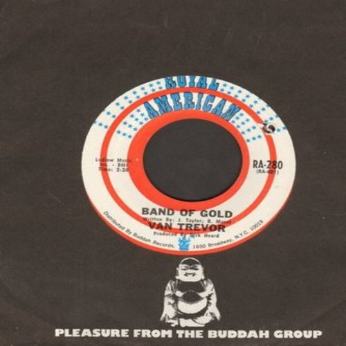 Trevor, Van - Band Of Gold/The Things That Matter (with Buddah company sleeve) (bb) - NM9/ - 45 rpm Records