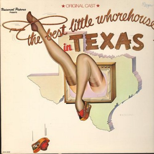 Best Little Whorehouse In Texas - The Best Little Whorehouse In Texas - Original Cast Recording (Vinyl STEREO LP record, gate-fold cover) - EX8/EX8 - LP Records